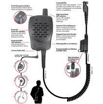 GPS-2200iLs - Speaker Microphone