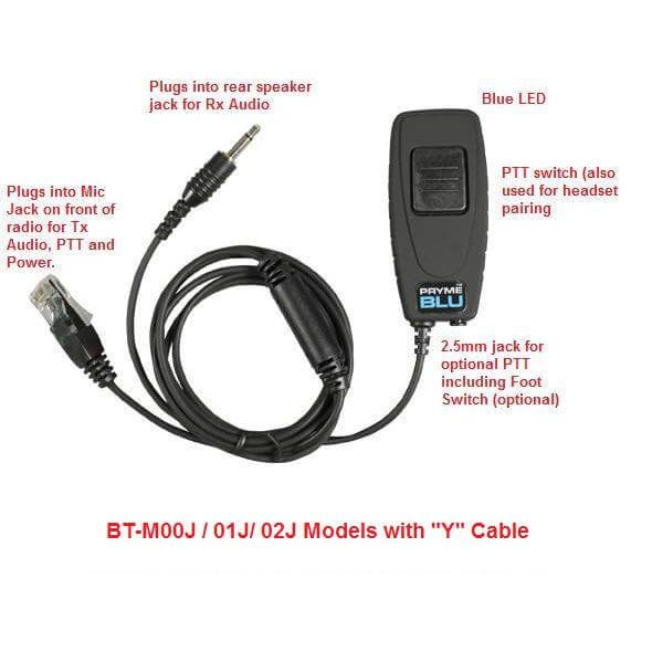 Oem Radio Accessories Mobile Accessories Bluetooth Adapters Bt M00j Bluetooth Adapter Kit For Icom Mobile Radios
